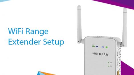 WiFi range extender setup,