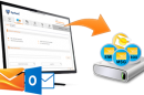 Outlook.com email backup tool